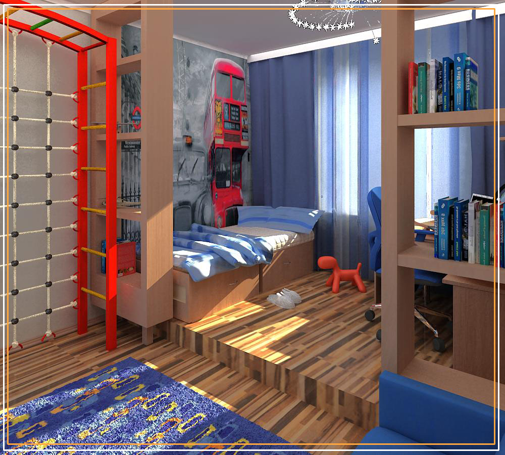 дизайн комнаты для мальчика 7 лет фото современный дизайн на Vip