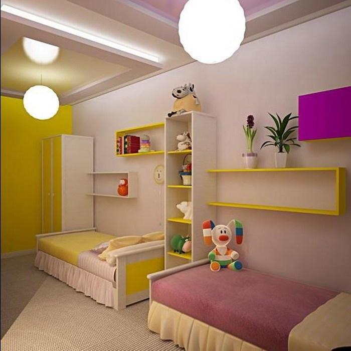 И начнем мы разработку дизайна с зонирования, то есть с определения — что должно быть в детской комнате.