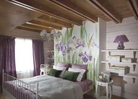 Спальня в стиле прованс - фото идеи идеально оформленного интерьера спальни