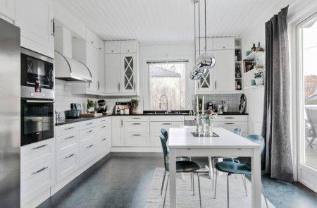 Встроенная кухня — фото дизайнерских проектов