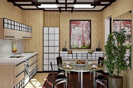Кухня в японском стиле. Особенности и идеи.