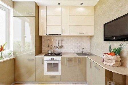 Кухня 3 на 3 метра