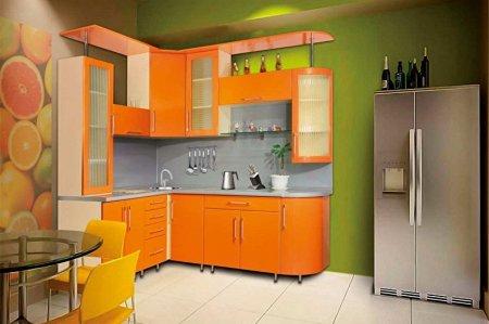 Маленькая угловая кухня: идеи дизайна