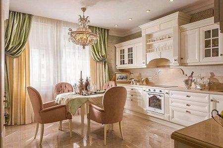 Идеи для дизайна кухни 15 кв.м.
