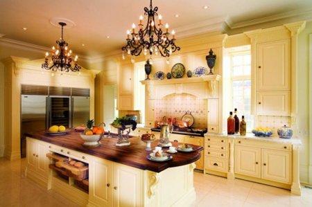 Люстра для кухни: виды, как выбрать