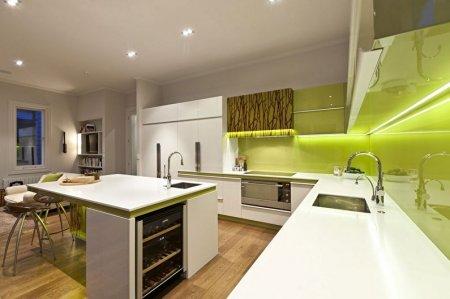 Зеленая кухня: идеи дизайна