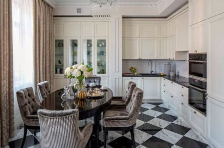 Идеи дизайна белой кухни