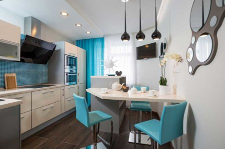 Дизайн кухни 12 кв.м.