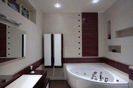 Дизайн ванной комнаты 6 кв.м.