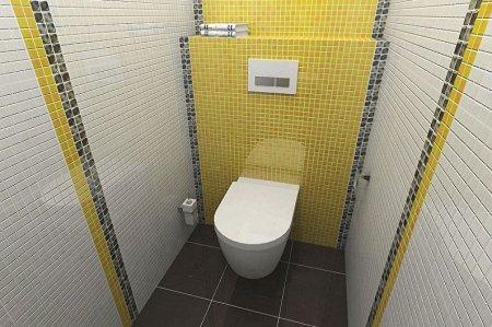 Дизайн туалета в хрущевке