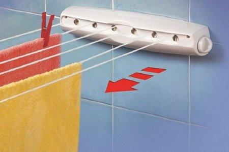 Настенные сушилки для белья в ванную