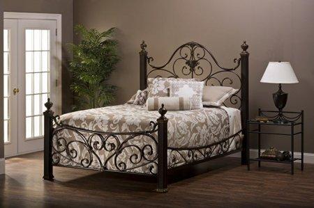 Кованые кровати: виды, как выбрать