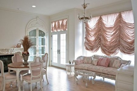 Идеи дизайна штор для гостиной