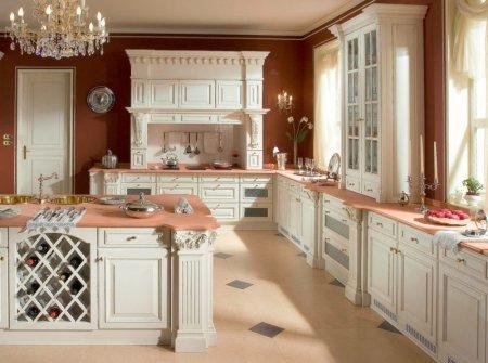 Кухня цвета слоновой кости