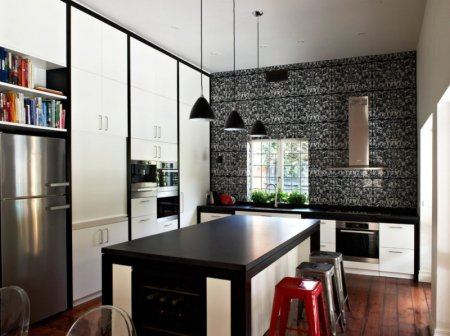 Кухня в стиле арт-деко — тонкости оформления и грамотный подход