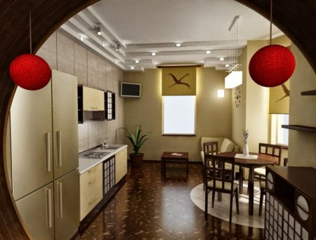 Кухня в китайском стиле