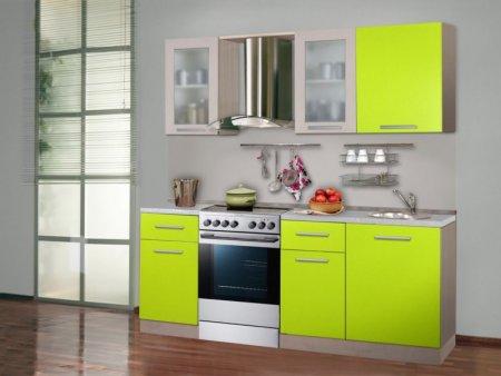 Кухня цвета лайм — обзор лучших вариантов сочного дизайна