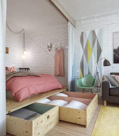 Спальня 10 кв. м. — идеи оформления спальни небольших размеров