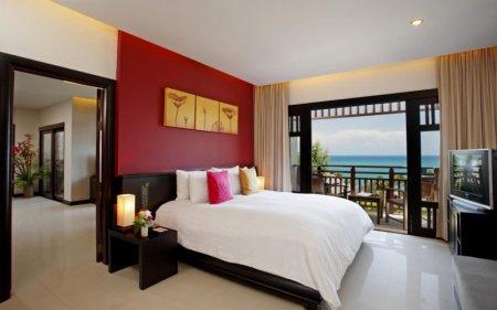 Яркая спальня - оформленная по советам дизайнеров