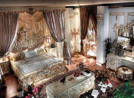 Спальня в стиле барокко: идеи и особенности шикарного дизайна
