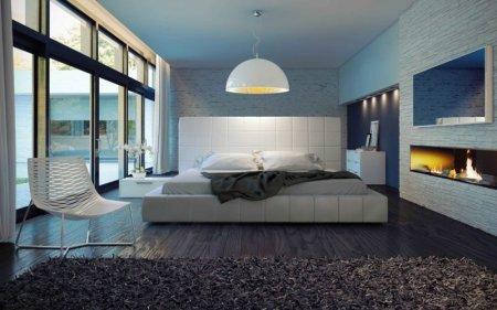Спальня в стиле лофт - правила идеального сочетания