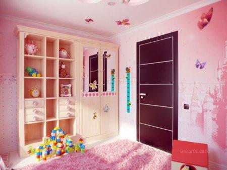 Дизайн детской спальни — лучшие идеи оформления интерьера детской