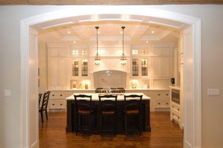 Арка на кухню - как оформить?