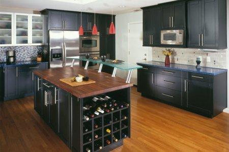 Зона хранения на кухне — используем пространство с умом!