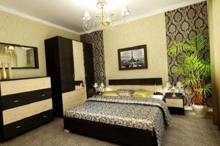 дизайн спальни подборка обоев современный дизайн