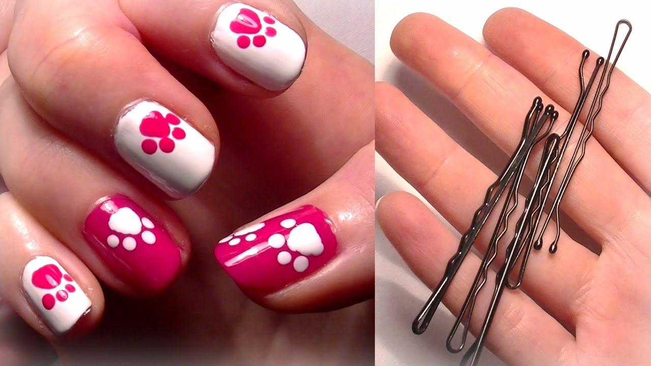 Самые простые рисунки на ногтях, стиль