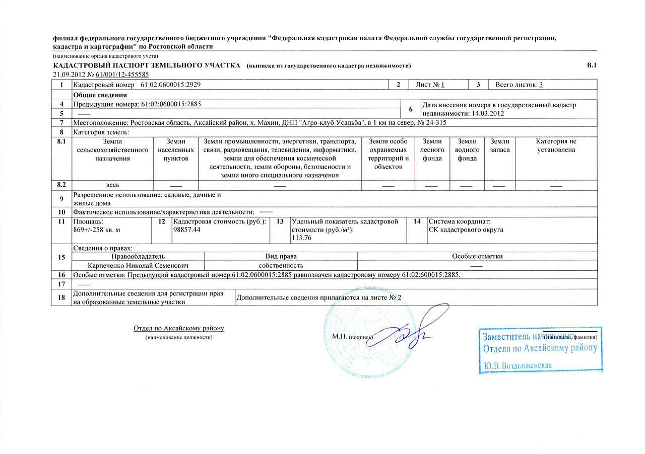 сроки регистрации земельного участка