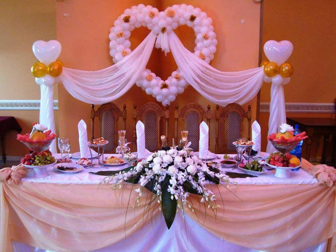 Идеи украшения свадебного стола своими руками фото 420