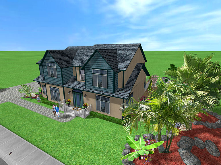 3d exterior home design software free online » Современный ...