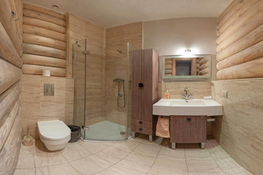 ванна в срубе