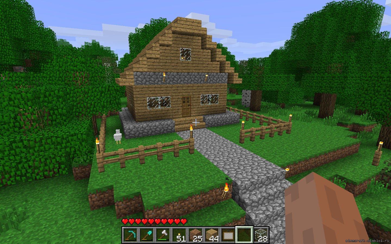 Как строить дом в майнкрафте