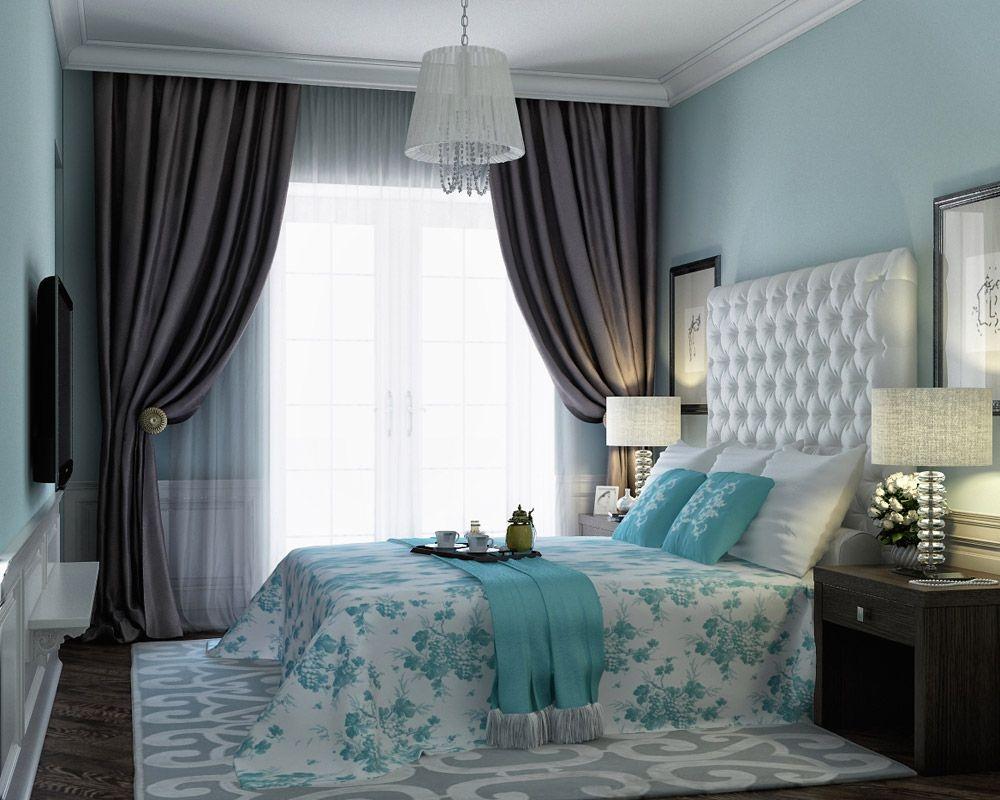 Сочетание цветов интерьере спальни