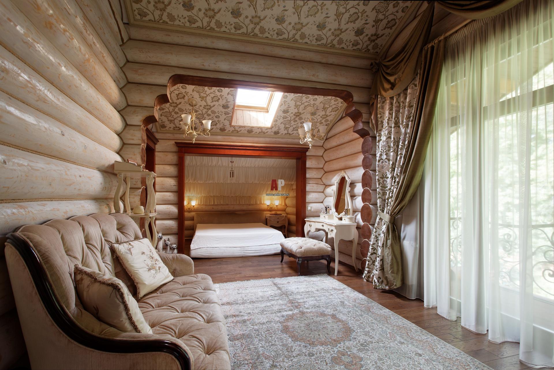 Деревянный дом дизайн интерьера