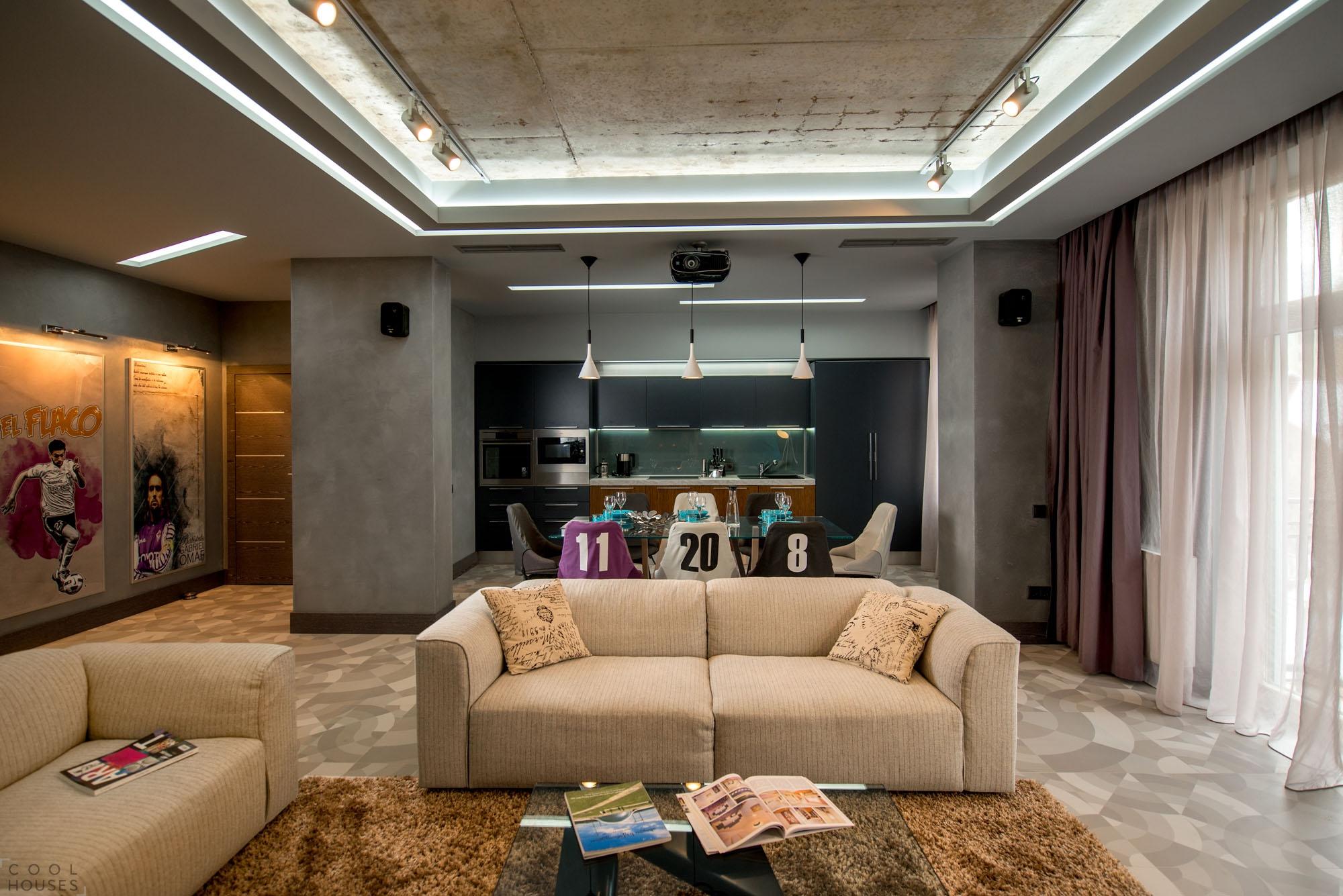 Дизайнерские проекты ремонта квартир