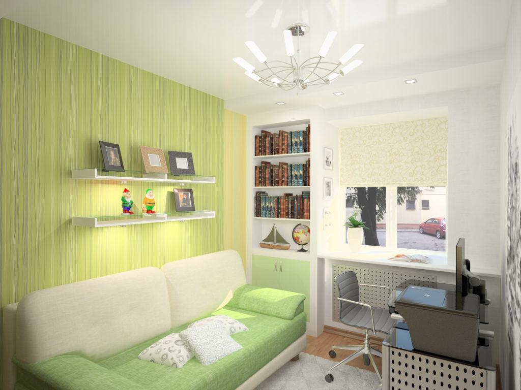 Фото дизайн и интерьер маленькой комнаты