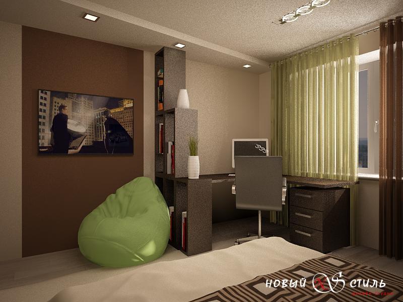 Дизайн комнаты парня 25 лет