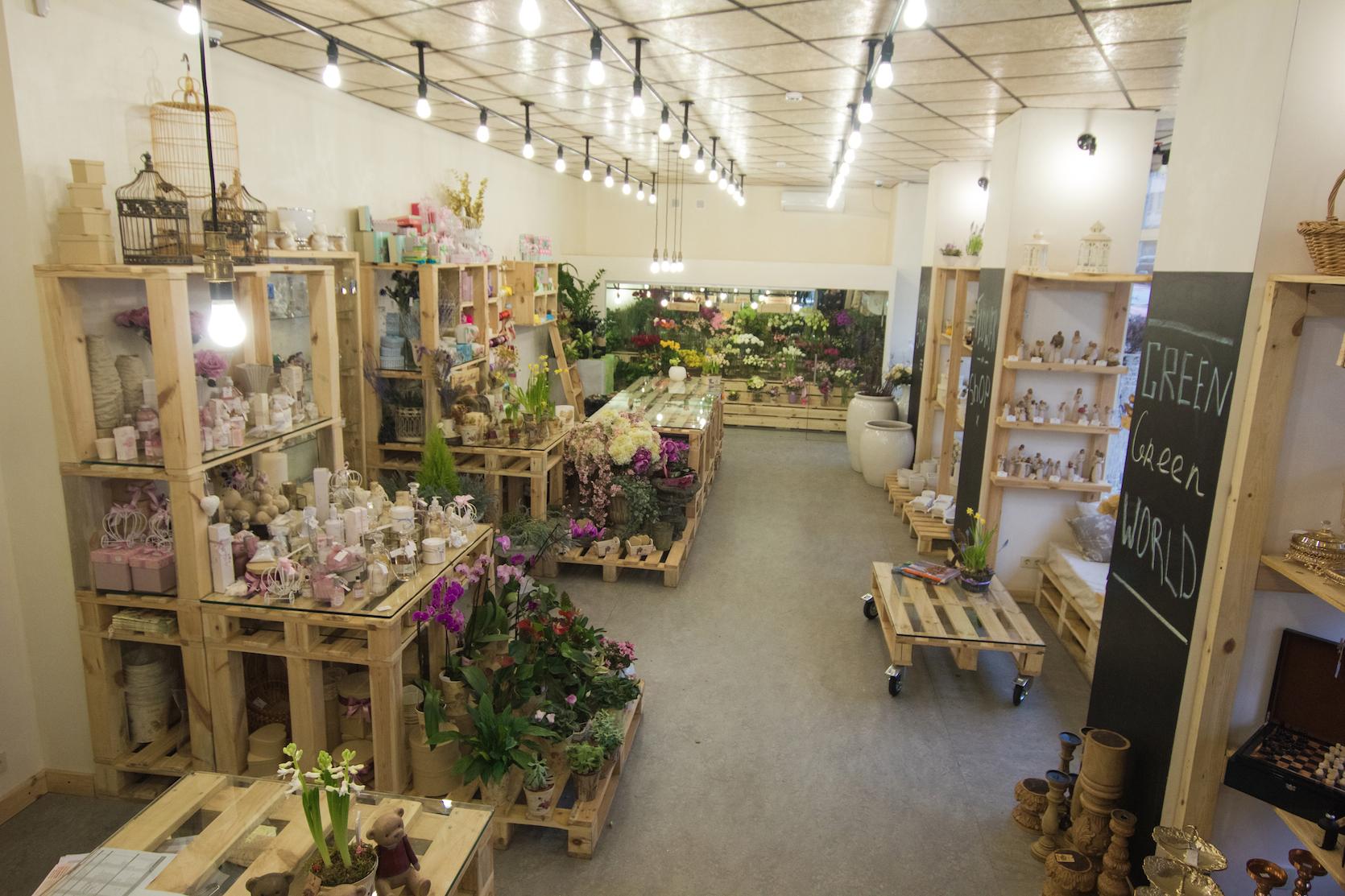 Цветочные магазины дизайн интерьера фото