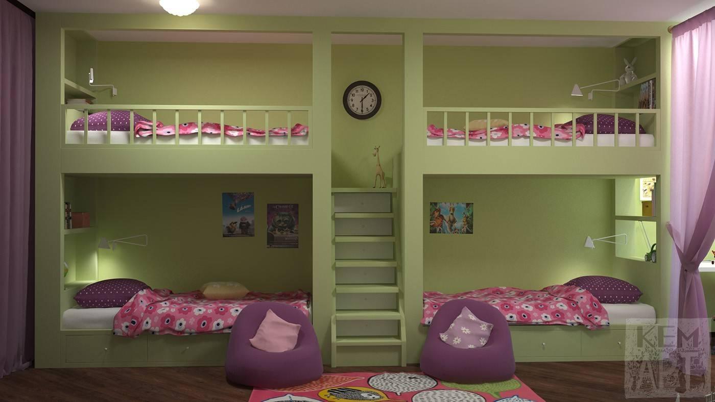 Как сделать из большой комнаты детскую