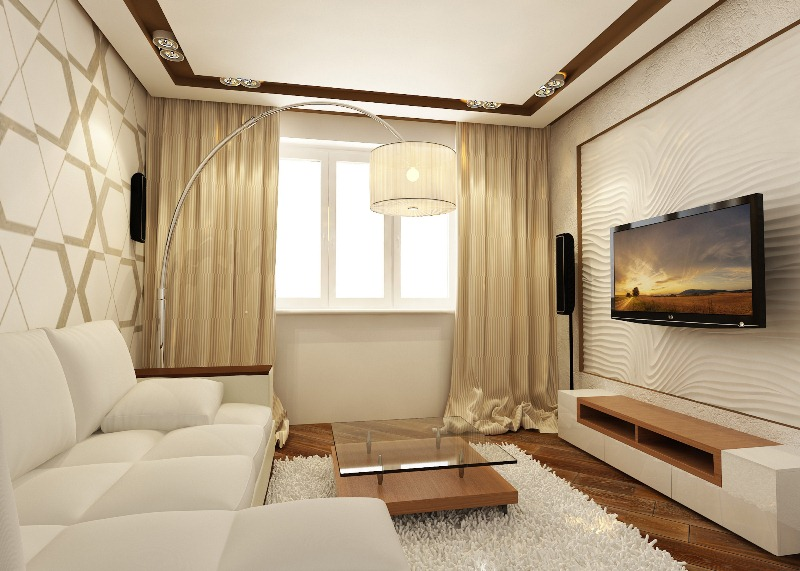 Дизайн двухкомнатной квартиры интерьера