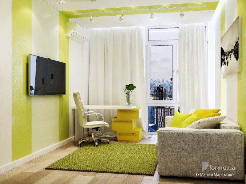 Интерьер диван в спальне
