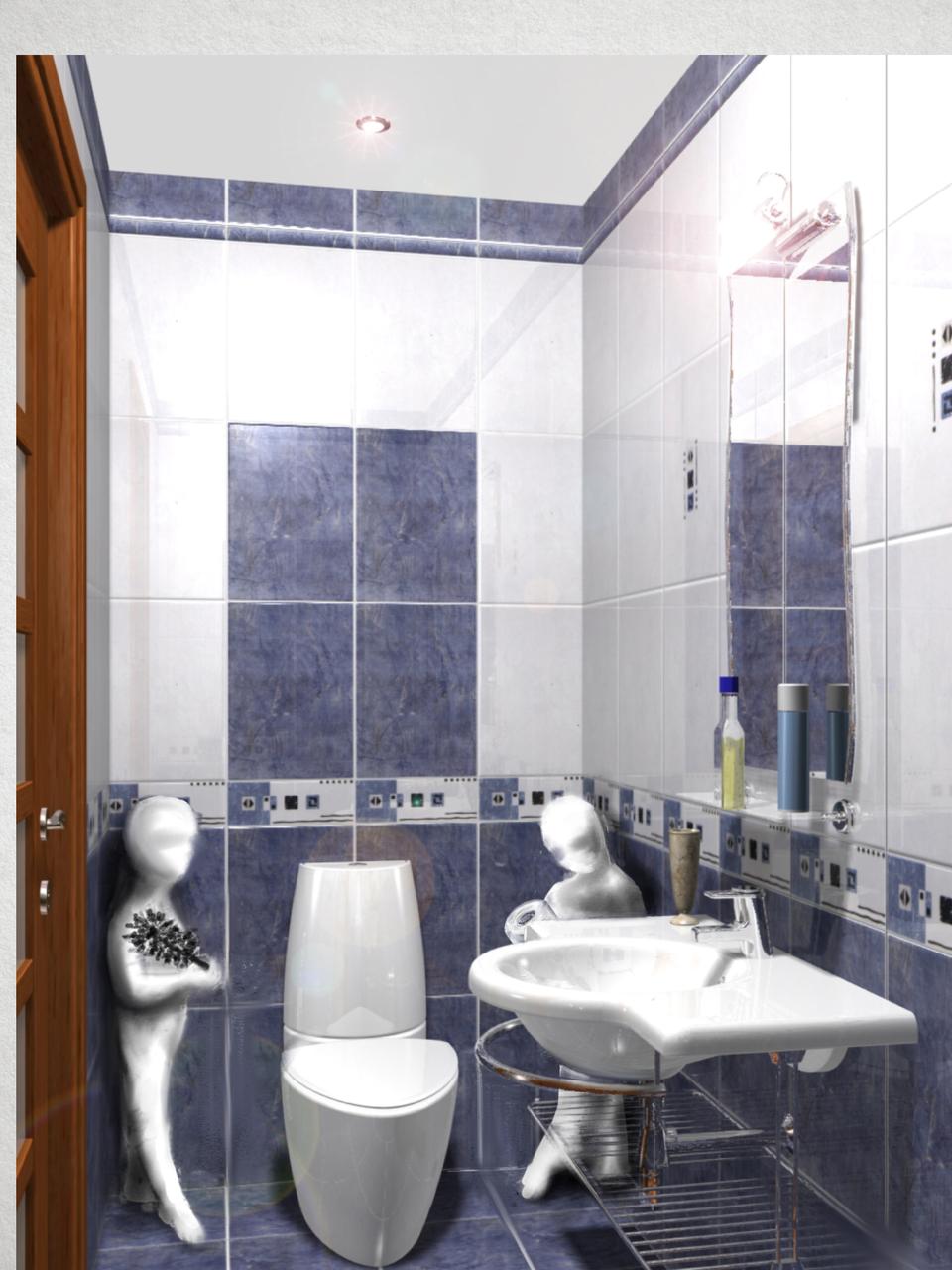 Туалетная и ванная комната дизайн фото