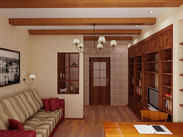 Интерьер небольшого дома внутри фото