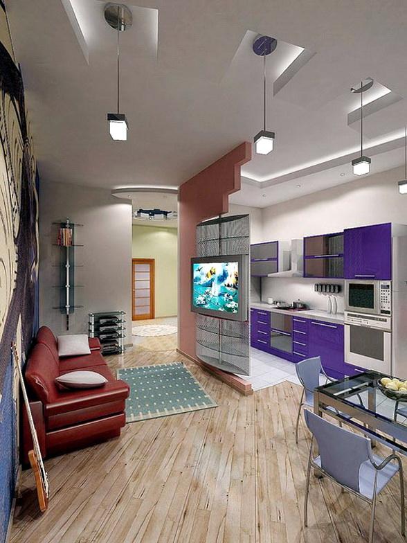 Дизайн интерьеров малогабаритных квартир-студий