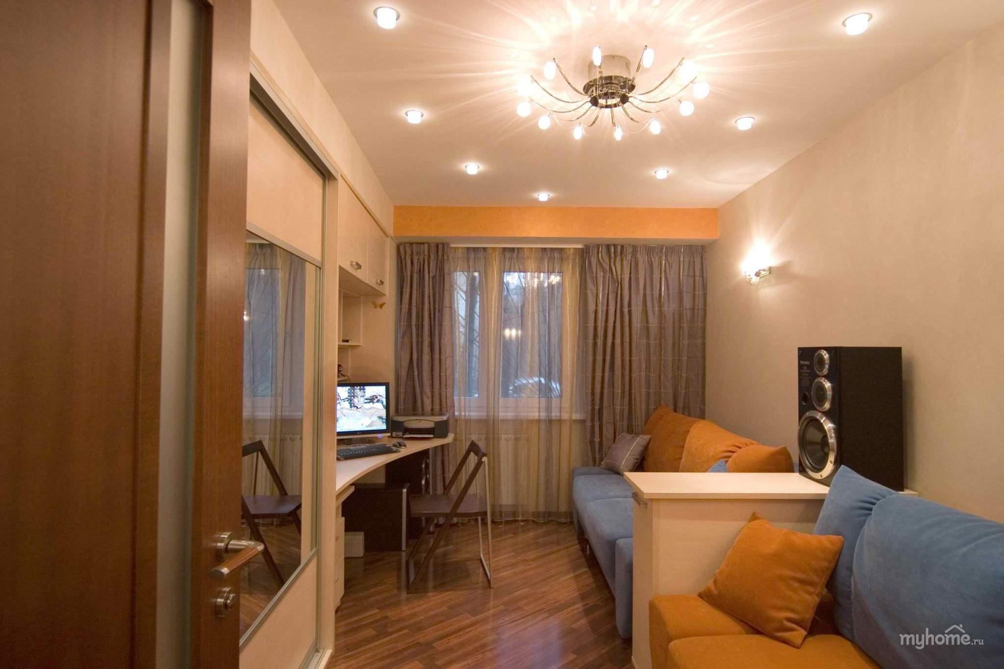 Малогабаритная двухкомнатная квартира дизайн