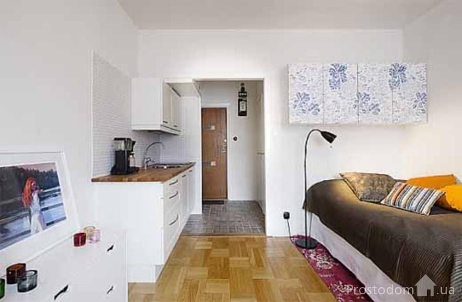 Дизайн маленькой квартиры студия