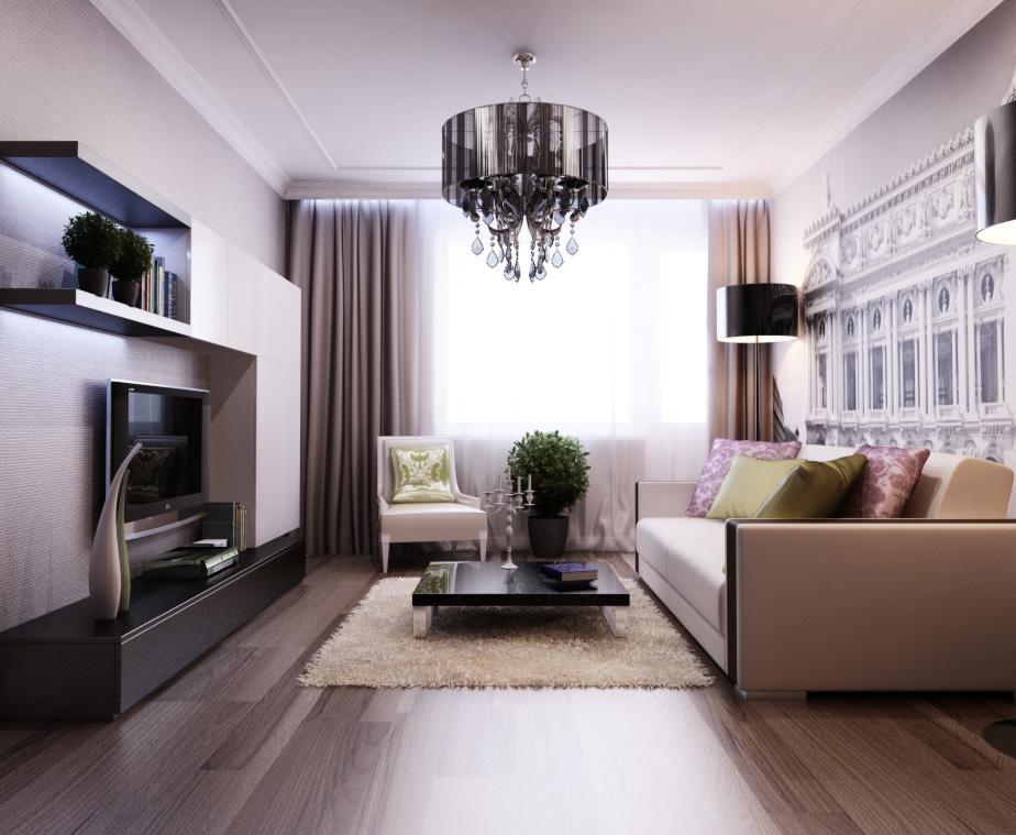 Интерьер дизайн 2 комнатной квартиры